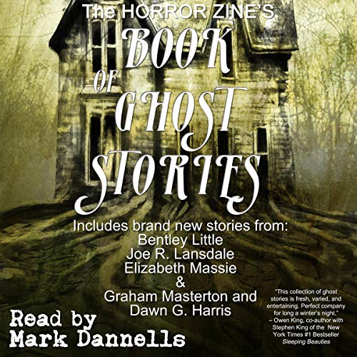 Couverture de The Horror Zine's Book of Ghost Stories