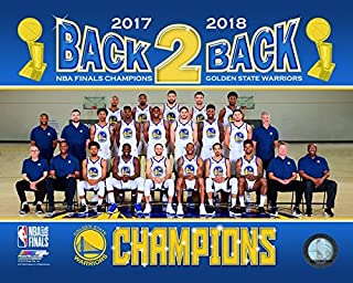 Golden State Warriors 2018 Champions Team Line-Up Roster Photo 8