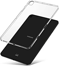 J&D Case Compatible for Galaxy Tab S5e Case, [Slim Cushion] [Lightweight Bumper] [Transparent] Shockproof Protective Slim Clear Soft TPU Rubber Back Cover for Samsung Galaxy Tab S5e T725 Case Clear