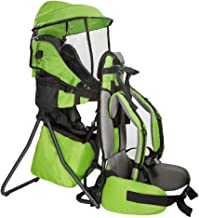 Best ClevrPlus Cross Country Baby Backpack Hiking Child Carrier Toddler Green Reviews