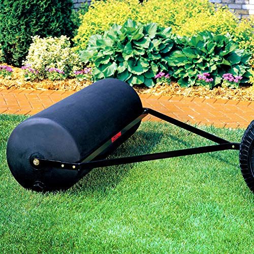 Brinly PRT-48SBH 485-Pound Tow Behind Poly Lawn Roller, 18 by 48-Inch