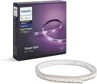 Philips Hue(ヒュー)ライトリボンプラス スマートLEDライト 【間接照明、Amazon Echo、Google Home、Apple HomeKit、LINE対応】