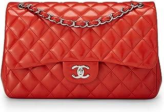 chanel shoulder bag red