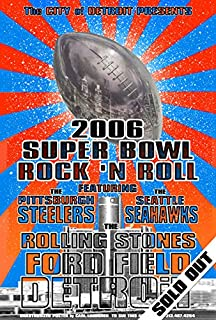 Super Bowl XL Seattle Seahawks Pittsburgh Steelers Rolling Stones 13