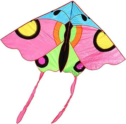 Unbekannt Drachen Erwachsene Drachenrolle 220 cm Einfach Zu Fliegen Faltbar Leicht Zu Tragen Rosa (Größe   A)