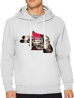 Mens Kevin Gates Logo Long Sleeve Hooded Sweat Shirt Pullover
