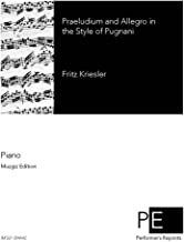 Praeludium and Allegro in the style of Pugnani - For Piano Solo