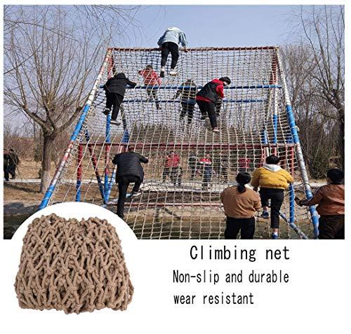 HWJ Niños Balcón Redes de Protección al aire libre Interior Escalada Redes Decoración de Techo de Entrenamiento Crawling Hamaca Columpio, 1 * 7 m