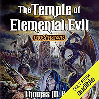 The Temple of Elemental Evil audiobook cover art