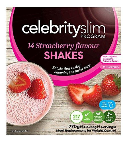 Celebrity Slim 7 Day Strawberry 14 Sachet Shake Pack