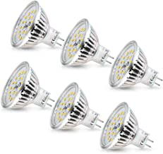 GU5.3 MR16 12V LED Spot Lamp Warm Wit 2800K Wowatt 6W Vervanging Voor 40W 35W 20W Halogeenlamp AC DC 12V Geen Flikkeren GX...