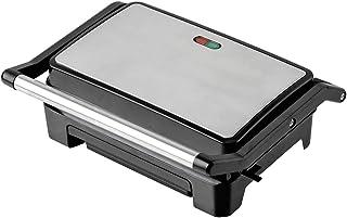 LIVIA Appareil à croque-monsieur pour toast et panini avec voyants et poignées Cool Touch (800 W, compact avec design minc...