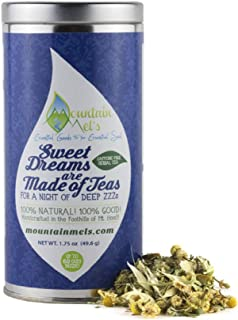 ~Sweet Dreams are Made of Teas~ For a Night of Deep ZZZ's! Loose Leaf Herbal Tea to Help You Have a Solid Night of Sleep, Wake Up Feeling Refreshed! ***Up to 60 Cups of Tea Inside***