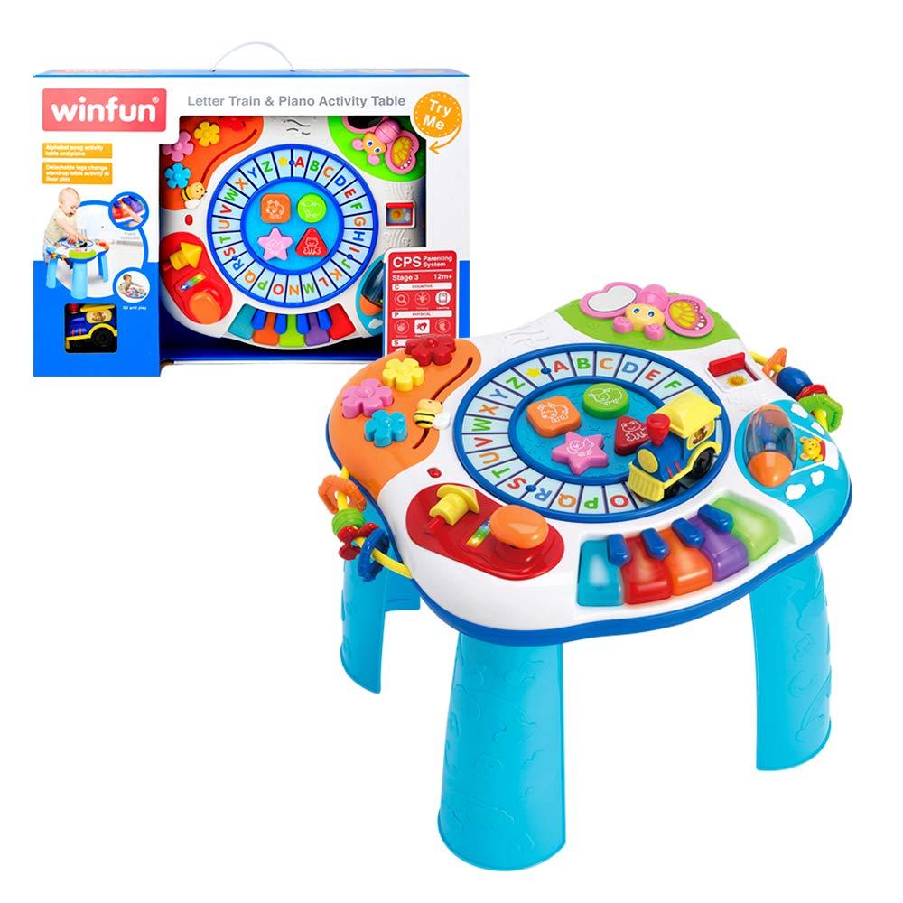 winfun - Mesa de actividades para bebés (44726): Amazon.es: Juguetes y juegos