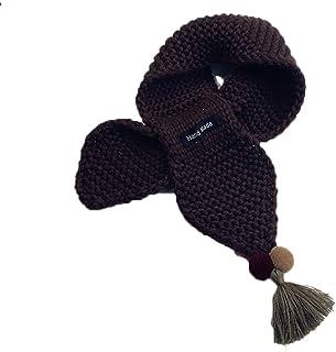Topfly® Baby Scarf Children Woolen Knitted Muffler Handmade Scarves Kids Fringed Scarf