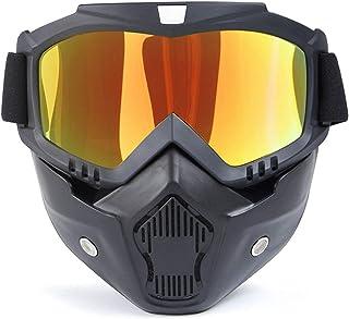 Aooaz Outdoor Visor Goggles Motorcycle Retro Helmet Riding Cross Country Goggles