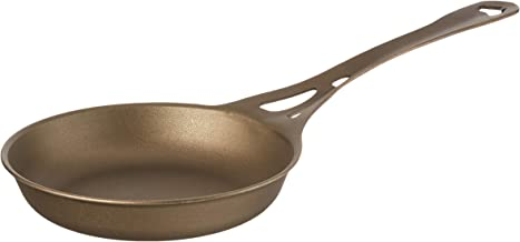AUS-ION Si118s Skillet with Satin Finish 100% Made in Sydney, 3mm Australian Iron, Professional Grade Cookware, 7-Inch