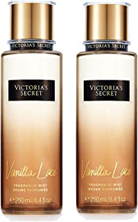 Victoria's Secret - Vanilla Lace - Fragrance Mist 8.4 Ounce (2pcs set)