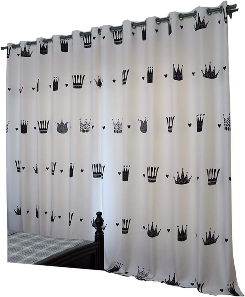Outlet sale feature Korean Max 68% OFF Children's Room Curtain Blackout Bedroom Princess