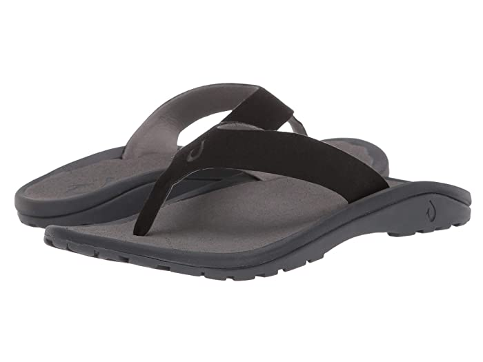 'Ohana Ho'okahi  Shoes (Black/Charcoal) Men's Sandals