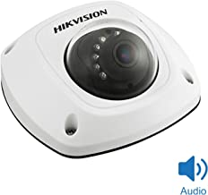 Hikvision 4MP IP POE Dome Camera with Audio Alarm 4mm Lens H.264+ Network Mini Dome IP Camera Day/Night ONVIF Compliant Indoor Outdoor IP67 Weatherproof DS-2CD2542FWD-IS