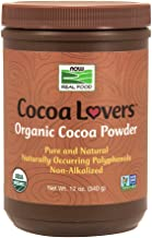 海外直送品Now Foods Cocoa Powder Organic Organic, 12 oz