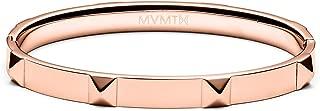 MVMT Women's Stud Bangle Bracelet | Clasp Closure, Stainless Steel