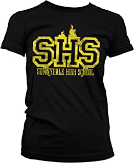 Buffy the Vampire Slayer Bleu T-shirt de baseballSunnydale High School
