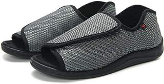 B/H Chaussures pour diabétiques pour Hommes,Chaussures de rééducation des Pieds enflés, Chaussures de Pied diabétique-49_G...