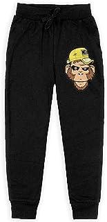 Yuanmeiju Monkey Meh Boys Pantalones Deportivos,Pantalones Deportivos for Teens Boys Girls