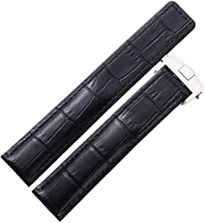 Dismay Leather Watch Band Strap Made for Tag Heuer Watches