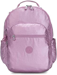 Kipling Seoul Luggage Metallic Berry
