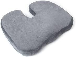 adatto per sedia da ufficio colore viola allevia dolori della zona lombare sedie a rotelle coccige ortopedico cuscino del sedile per abbellire fianchi Cuscino memory foam seggiolino auto