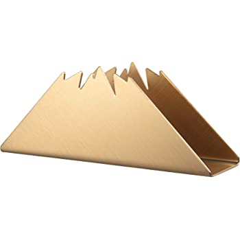 Servilletero moderno rectangular de acero inoxidable IMEEA mesas de picnic mesas de cena dispensador de servilletas de papel decorativo para encimeras de cocina