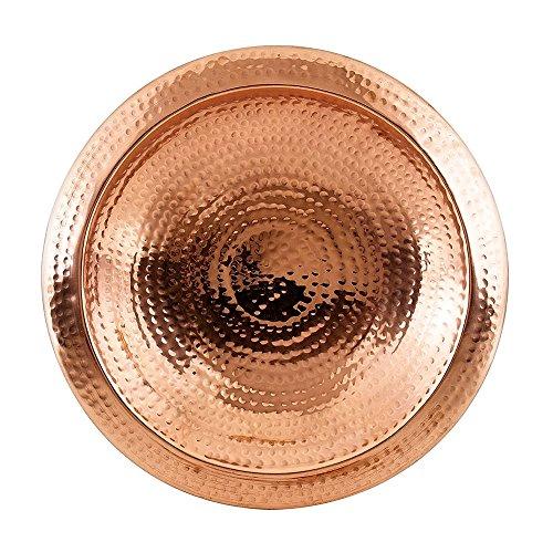 Achla Designs en cuivre martelé Bol avec Rebord