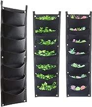 Vertical Garden Hanging Planter, 7 Pockets, Wall Hanging Mount Planter Plant Grow Bag for Flower Vegetable - Indoor/Outdoor