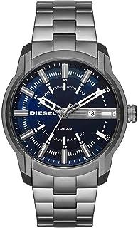 Diesel Men's Armbar Stainless Steel Dress Watch, Color: Grey (Model: DZ1768)