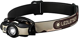 Ledlenser - MH4, Rechargeable Lightweight Multipurpose Headlamp with Removable Headstrap and Metal Pocketclip, High Power ...