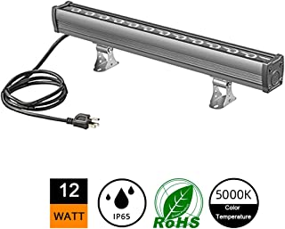 12W Outdoor LED Wall Washer Lights, 1.6ft/20