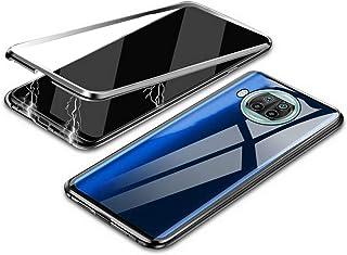 جراب MONCASE Mi 10T Lite 5G من MONCASE مصنوع من زجاج صلب 360 درجة مزود بإطار معدني قابل للطي 9H من الزجاج المقسى [الأمام و...