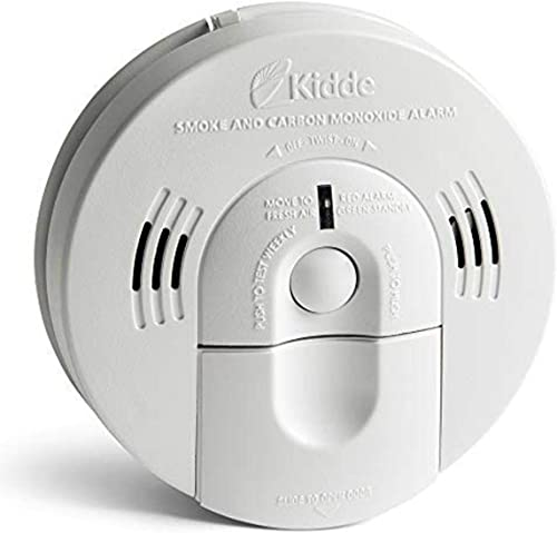Kidde KN-COSM-IBA Hardwire Combination Smoke Carbon Monoxide Detector Battery Backup Voice Warning Interconnectable