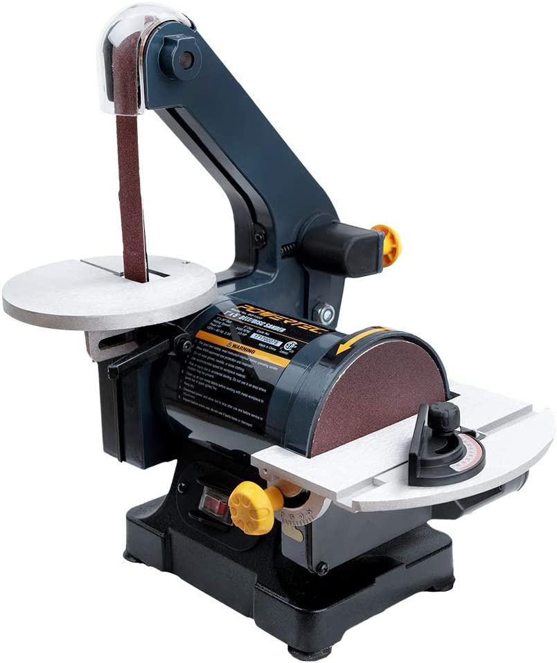 POWERTEC BD1502 Belt Disc Sander for Woodworking x 30 in Super-cheap in. 1 Max 40% OFF
