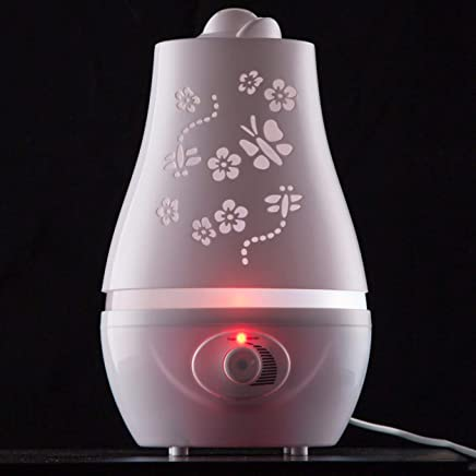 Saikogoods 加湿 空気清浄機 卓上加湿器 GYJ - 113超音波空気加湿器エッセンシャルオイルアロマディフューザミストメーカーディフューザーオフィスSPAのLEDナイトライト白
