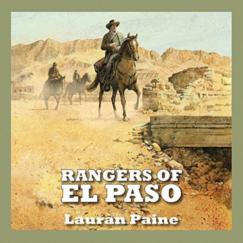 Rangers of El Paso audiobook cover art