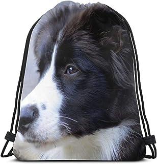 Mabell Cute Labradors 3D Print Drawstring Backpack Rucksack Shoulder Bags Gym Bag for Adult 16.9X14