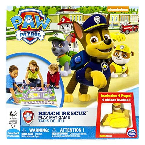 Alfombra Circuito Beach Rescue + 4 Vehículos Patrulla Canina