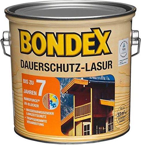 Bondex Dauerschutz-Lasur Nussbaum 2,50 l - 329921