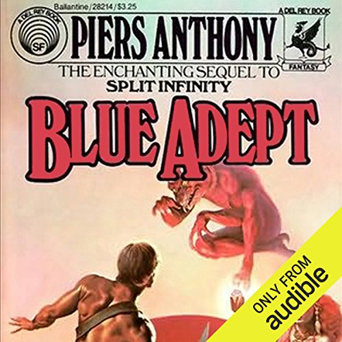 Blue Adept audiobook cover art