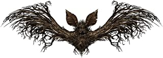 MEANIT Halloween Decorations, Wall Decal Window Decor Party Supplies, Bats