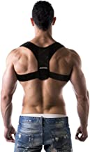 Advanced Posture Corrector by Back Brace Solutions Improve Your Posture Now and Feel The Amazing Benefits/Pain Relief Unisex Support Designed to Eliminate Bad Posture Slouching Hunching (Small/Medium)